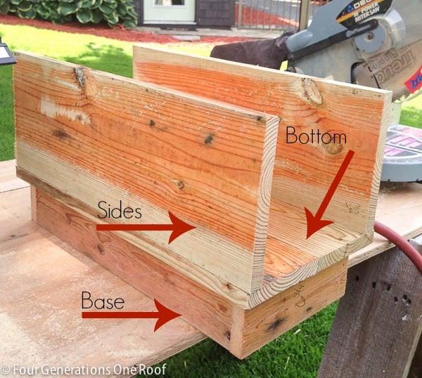 How to make a mailbox diy tutorial four generations one roof how to make a mailbox solutioingenieria Choice Image