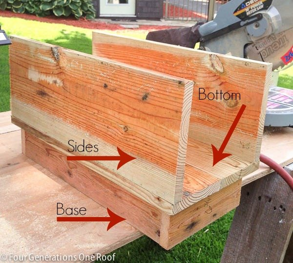 How to make a mailbox diy tutorial four generations one roof how to make a mailbox solutioingenieria Images
