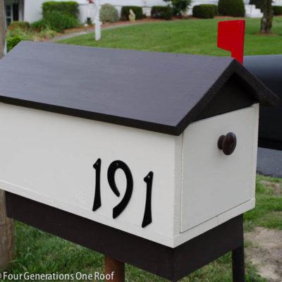 How to make a mailbox {diy tutorial}