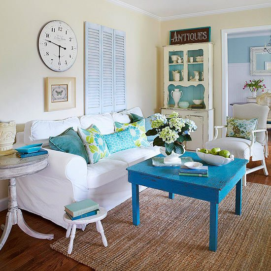 diy decorating coastal