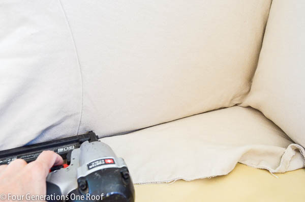 how to reupholster a couch-