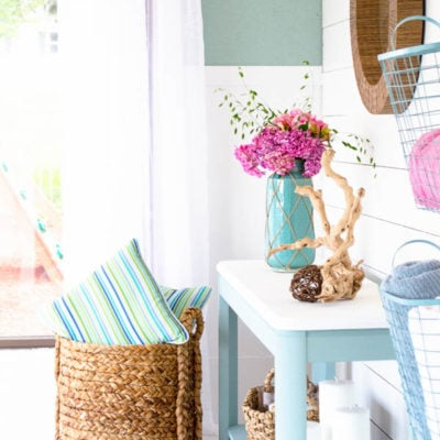 Our Stylish Pool House Makeover is complete