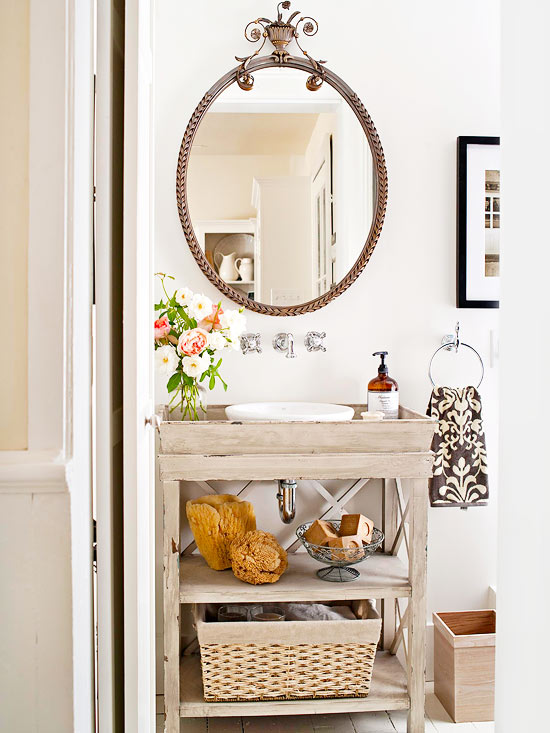 Dreamy Powder Rooms Mini Makeover In The Works Four