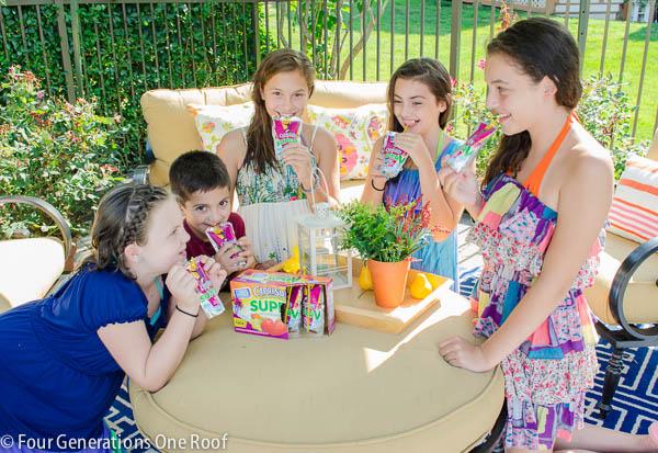 family fun with capri sun