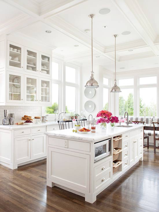 Favorite white kitchens four generations one roof House beautiful kitchen of the year 2013