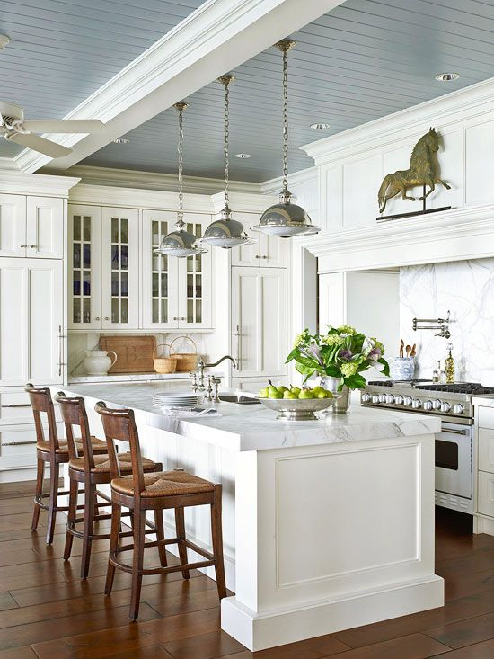 Favorite_white_kitchens_stainless_steele Save · Better Homes And Gardens