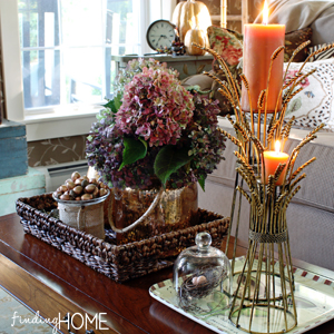 fall decorating mini makeover kirklands