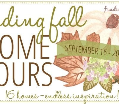 Finding Fall Home Tour + Better Homes and Gardens