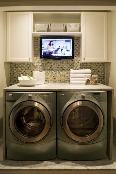 Small Space Laundry Room Ideas | Four Generations One RoofFour ...