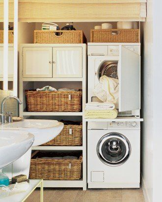 small space laundry room ideas10