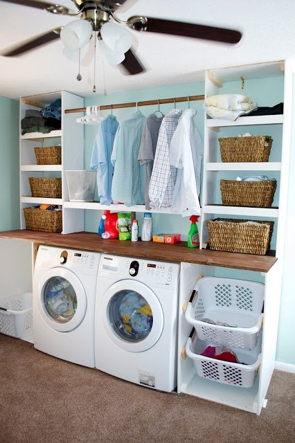 Small space laundry room ideas page 8 of 4 four - Laundry room for small spaces ...