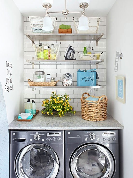 small space laundry room ideas9