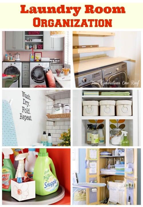 Laundry Room Organization Sneak Peek Of Shelves Four