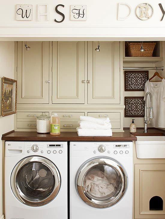 laundry room storage organization and inspiration hacks ideas pinterest