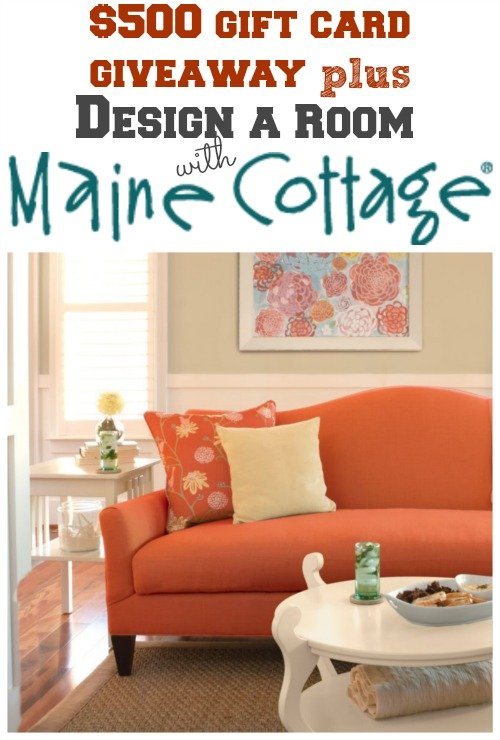 design a room with maine cottage