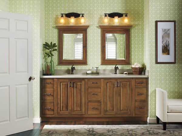 Makeover Bathroom Vanity Omega Cabinetry free vanity makeover Four Generations e Roof