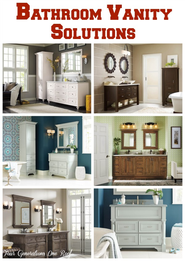 Makeover Bathroom Vanity Omega Cabinetry