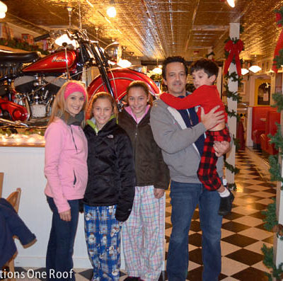 Our Polar Express Event in North Conway, NH