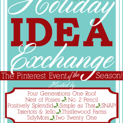 Join us for a Holiday Idea Exchange Pinterest Event