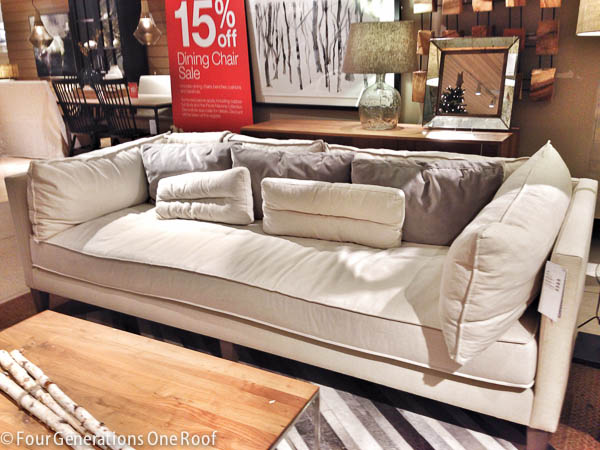 The Search For A Comfy Couch Our Tufted Sofa Four