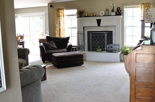 family room makeover with cheryl at tidymom
