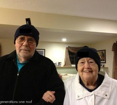 Living with my elderly grandparents