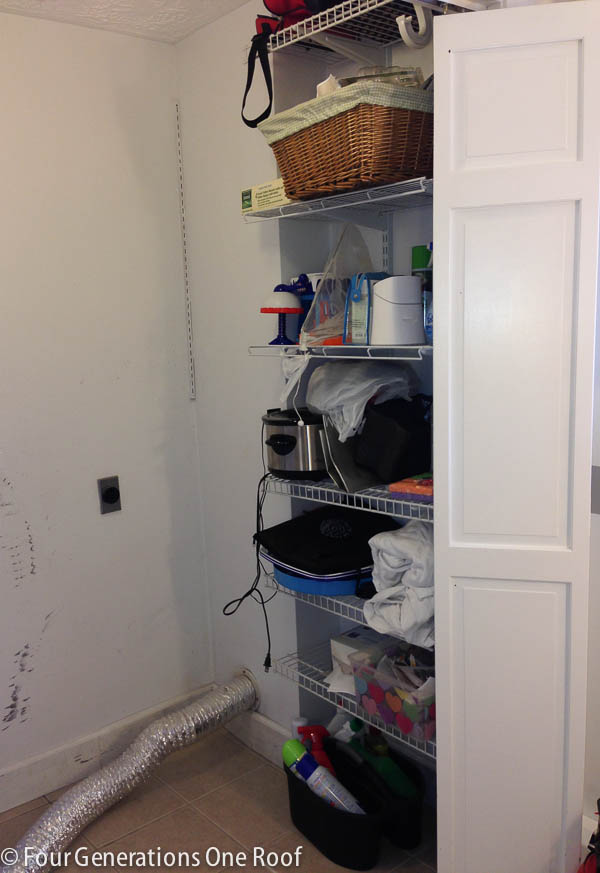 Budget Laundry Room Reveal