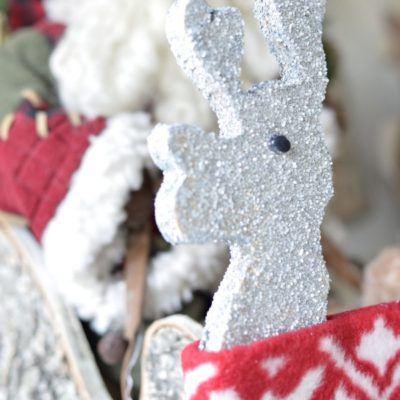 Homemade Christmas Decorations {our reindeer + more}