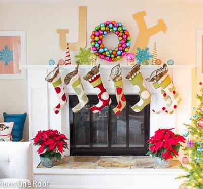 Christmas Home Tours continue + I Heart Organization