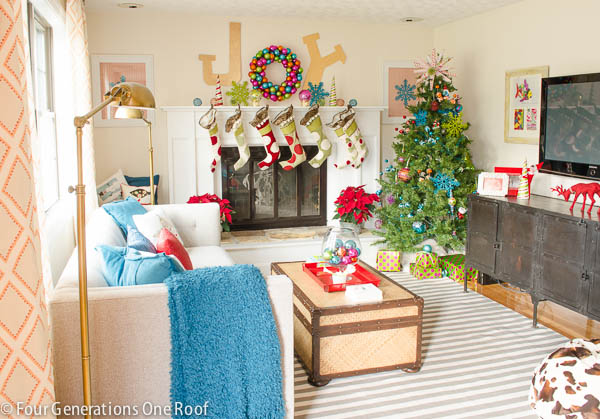 Holiday decorating with Home Goods {stylescope quiz}   giveaway  Four Generations One Roof