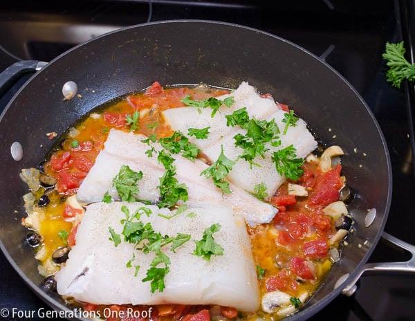 easy stove top haddock recipe