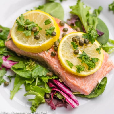 """Baked Salmon Fillet """"The Feast of the Seven Fishes"""""""