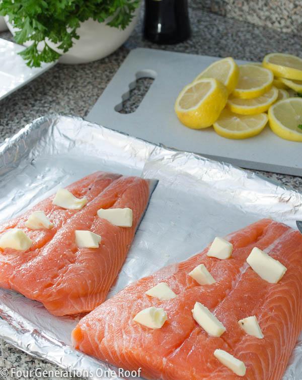 baked salmon fillet-3