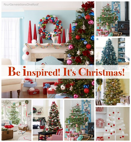 christmas tree decorating ideas better homes gardens