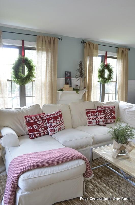 DIY Christmas decorating