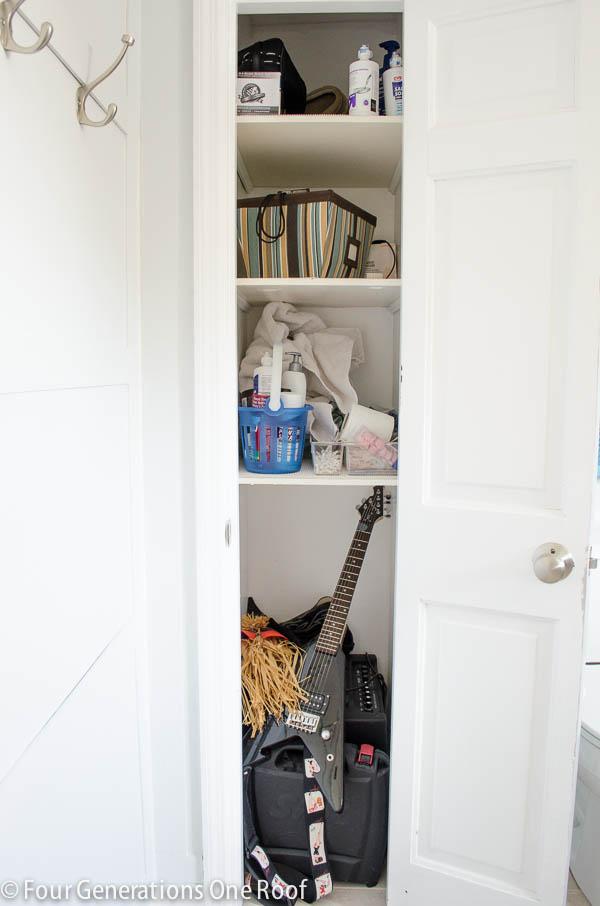 Wonderful Small Closet Organization Project