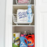 bathroom laundry utility closet Four Generations One Roof-24
