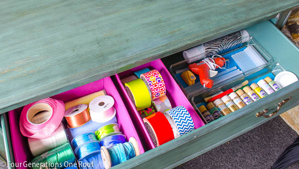 all-in-one craft drawer