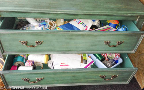 all in one craft drawer