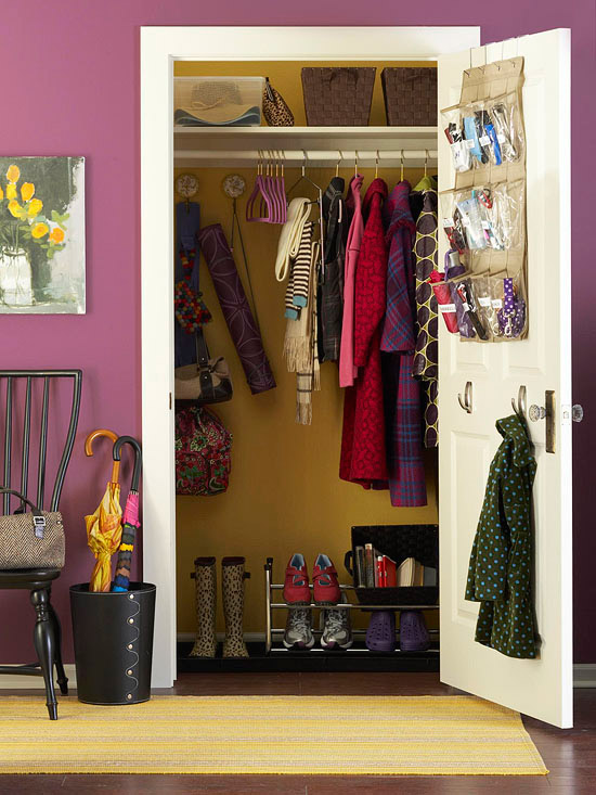 how to get organized closet solutions