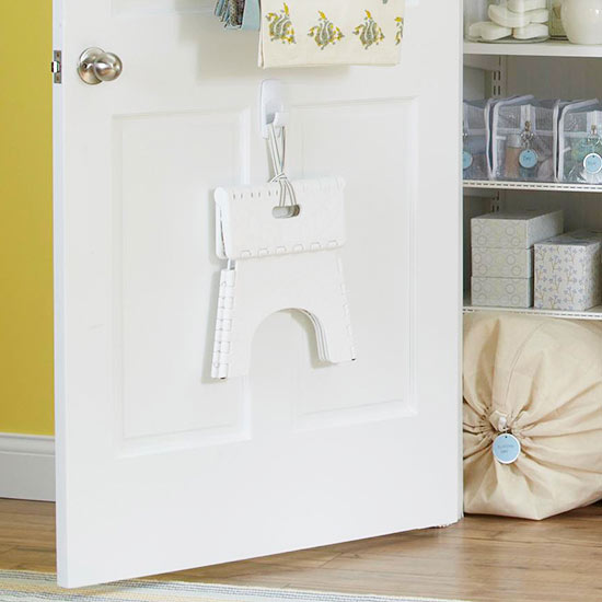 how to get organized inside door hooks & How to get organized 2014 closet + cabinet door solutions - Four ... pezcame.com