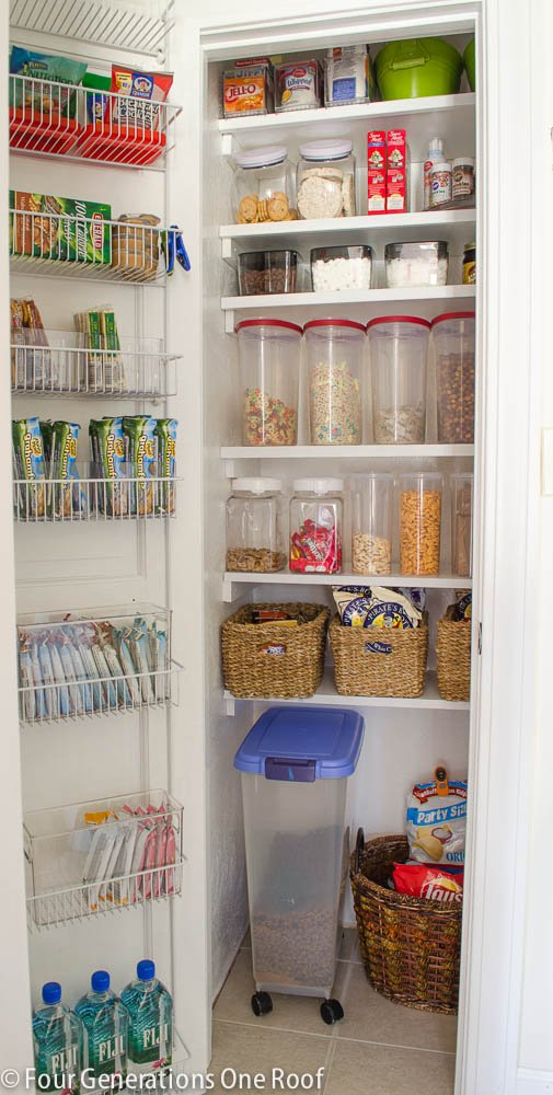 our organized kitchen pantry closet reveal four generations one