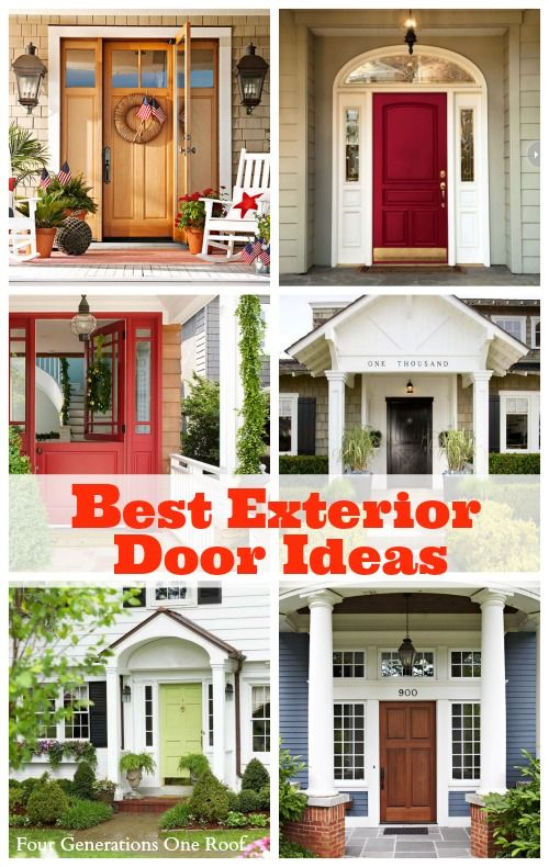Best Exterior Door Ideas Our Front Door Makeover Four