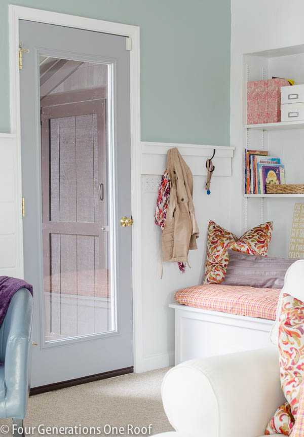 painting interior back door makeover-13