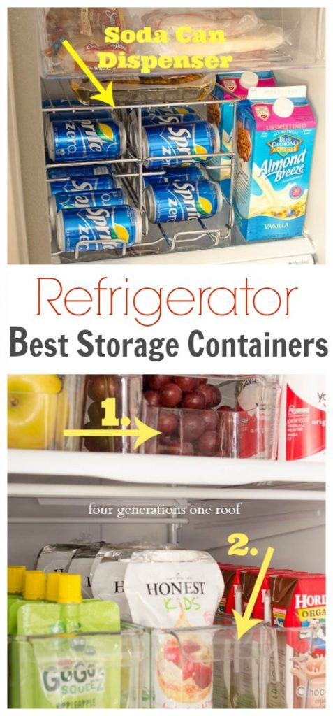 refrigerator storage containers graphic.