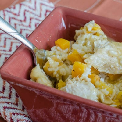 Rotisserie Chicken Casserole {30 minute recipe}