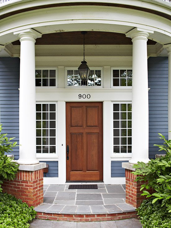 Best exterior door ideas our front door makeover four for Front window design