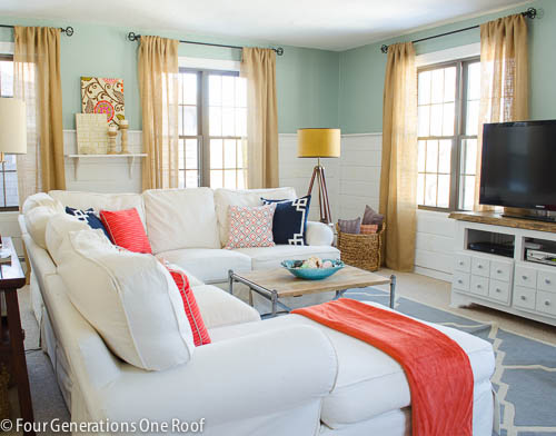 our spring family room