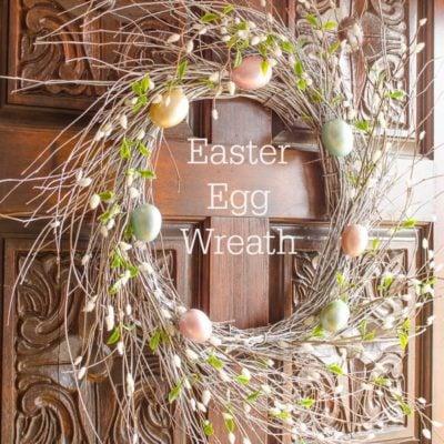Easter Egg wreath for under $20