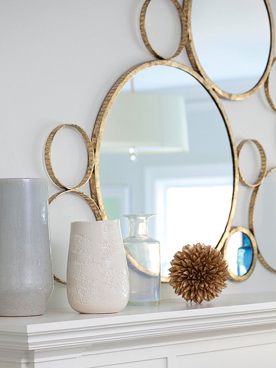 how to decorate gold and brass